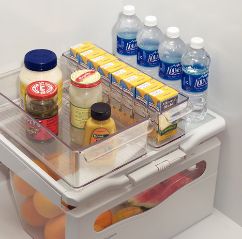 fridge storage bins to help organise your food storage