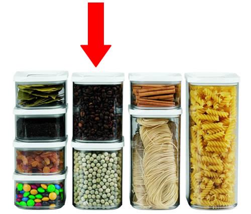 1000ml Medium Kitchen Storage Canisters