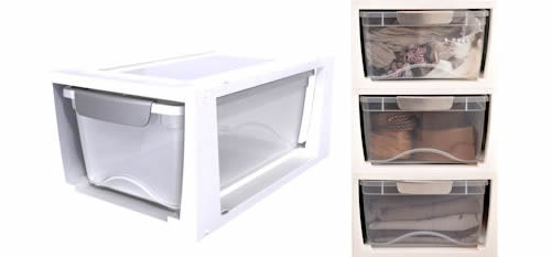 Ladies Clear Shoe Storage Box
