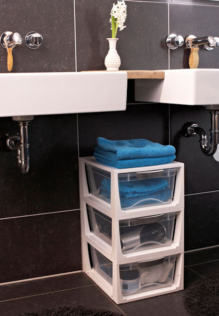 Stacking Bathroom Storage Drawer