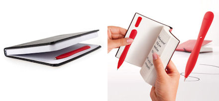 space saving slim pen