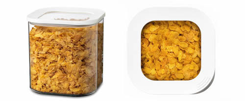 Clear Kitchen Storage Canister - 2750ml