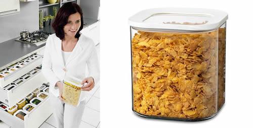 Clear Kitchen Storage Canister 2750ml Kitchen Storage