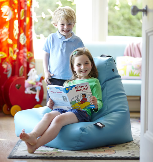 Kids Mini-B Beanbag Crazy Chair by Extreme Lounging.  For a traditional bean bag see our selection of Fatboy Junior beanbags