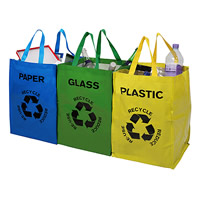 Recycling Bags - Set of 3