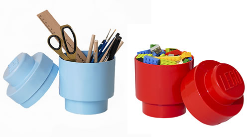 Round 1 stud giant lego brick storage boxes