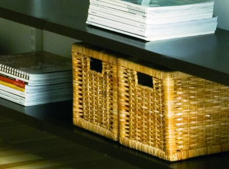 Wooden Solid Elfa Shelf - 120cm x 50cm