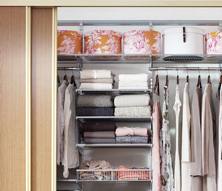 Store 60cm X 50cm Elfa Ventilated Shelf Platinum
