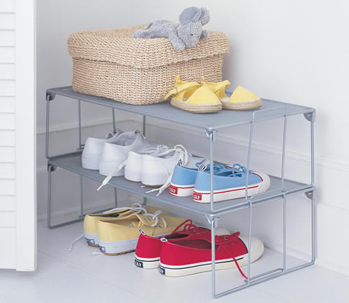 Metal Shoe Storage Rack