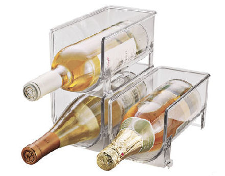 wine rack for inside the fridge..also great for soft drinks storage