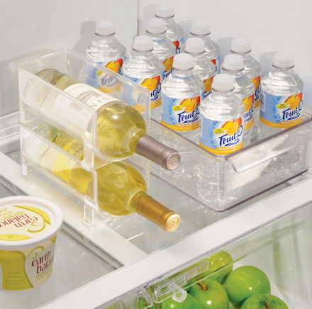 fridge wine rack