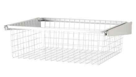 Elfa 60cm Gliding Drawer & Basket - Shallow