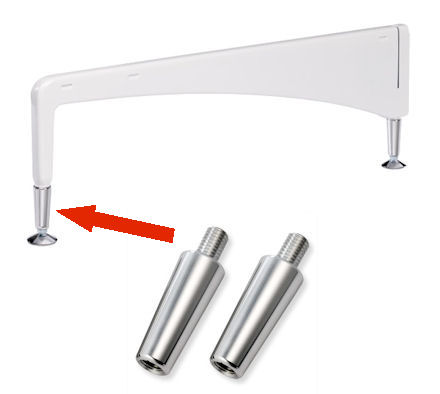 Elfa Freestanding - Foot Height Extenders