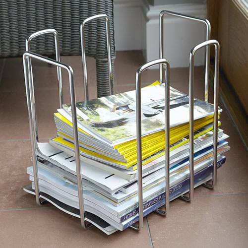 Steel Magazine Rack