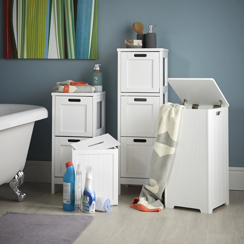 Shaker Style 2 Drawer Storage Unit