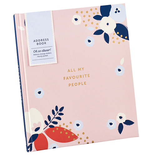 Get yourself organised  with our new address book