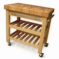 The Leverton Kitchen Trolley