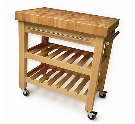 The Leverton by kitchen trolley