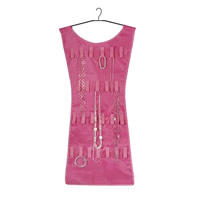 Little Pink Dress Hanging Jewellery Organiser