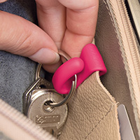 Set of 2 Handbag Key Clips