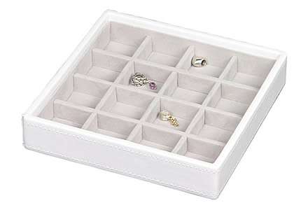 Stackers $reg$ 'Criss-Cross' Charm Jewellery Storage Box
