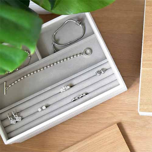 Stackers Ring and Bracelet Jewellery Storage Box