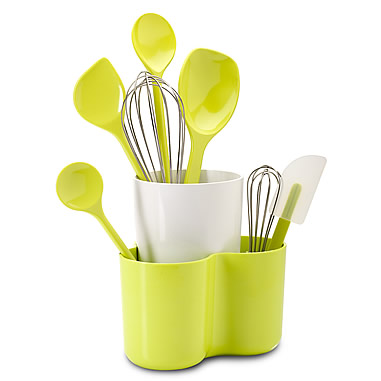 Melamine Utensil Holder