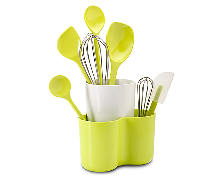 Kitchen utensil holder for better kitchen storage