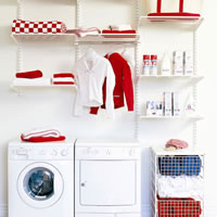 Elfa Utility Room Storage - Best Selling Solution