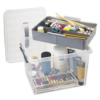 Crafts Storage Box and Tray - 22 Litre
