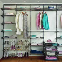 Elfa Wardrobe - Best Selling Solution in Platinum
