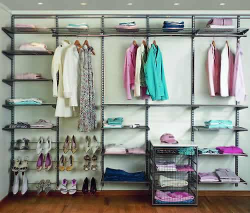 Store elfa wardrobe best selling solution in platinum Best wardrobe storage solutions