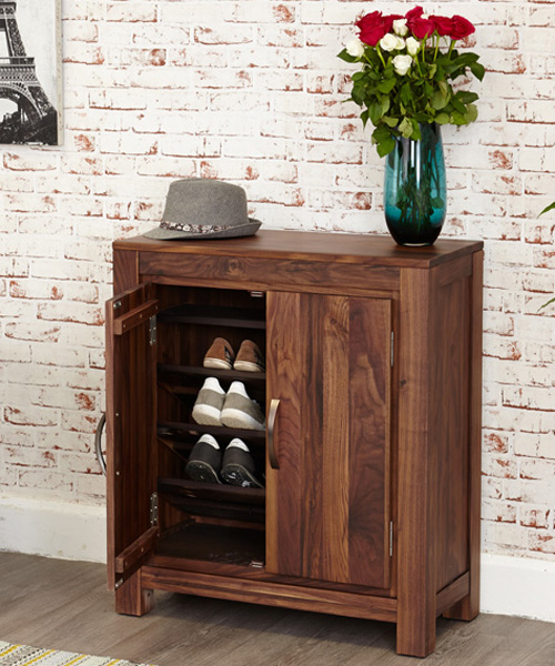 Shoe storage cabinet for 20 pairs of shoes