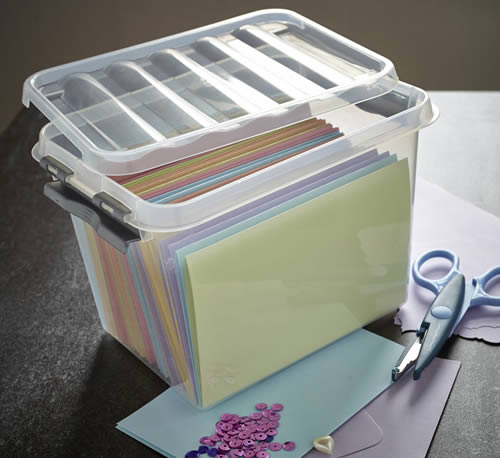 3 litre craft storage box