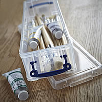 Knitting Needle / Paint Brush Storage Box