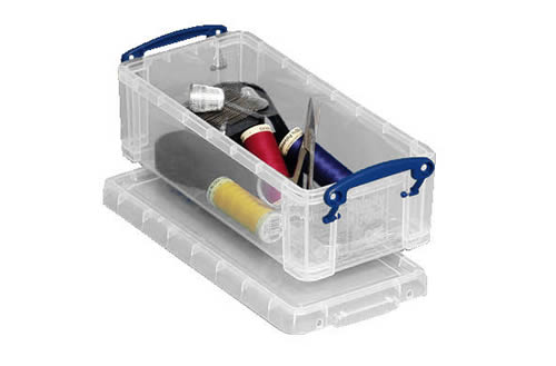 0.9 litre storage box ideal for pens, pencils etc - Really Useful Boxes RUB