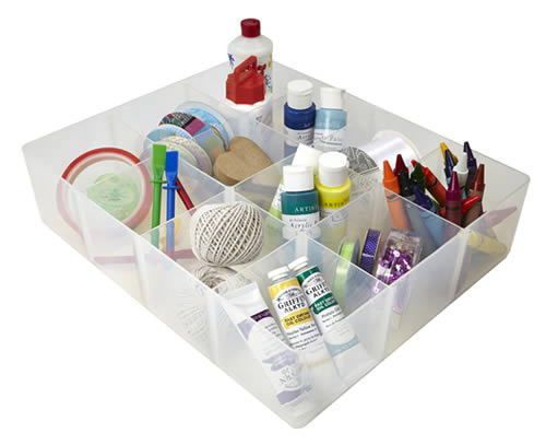 12 compartment storage tray