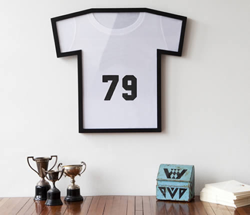 football / rugby shirt picture frame