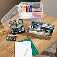 Paints and Brushes Storage Box - 15 Litre