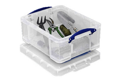 21 litre clip close storage box - Really Useful Box RUB