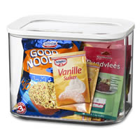 Clear Kitchen Storage Canister - 4500ml