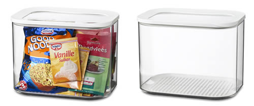 Store Clear Kitchen Storage Canister 4500ml