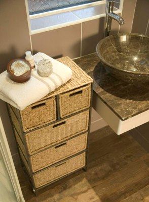 seagrass drawer unit