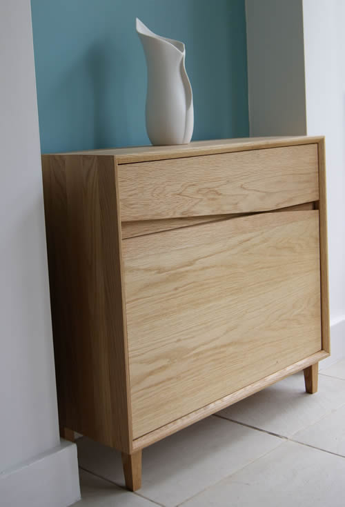 Oak Hallway Console Table Home Storage Systems From Store