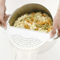 Pan Lid Strainer