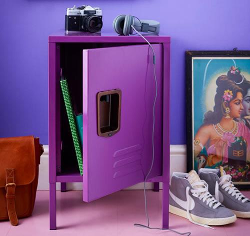 Retro Hallway Locker
