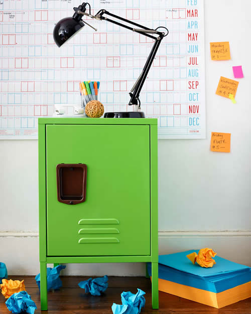 Retro Office Storage Locker