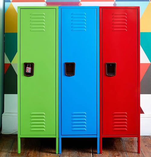 Retro Storage Locker