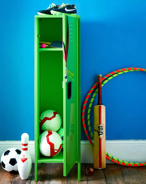 Kids bedroom lockers