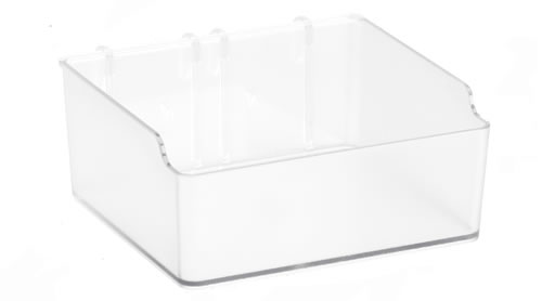 Elfa Craft Board Acrylic Storage Box - Short
